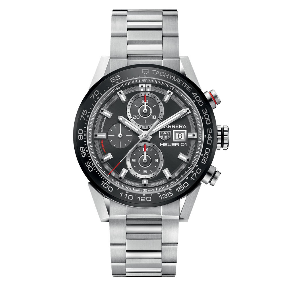 TAG HEUER CARRERA CALIBRE HEUER 01 CAR201W.BA0714