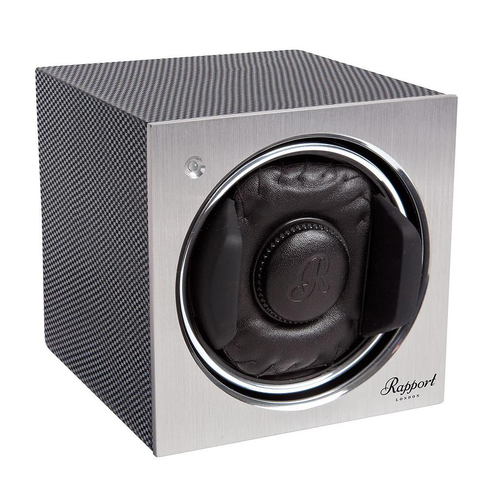 Rapport Tetra Mono Watch Winder - Carbon