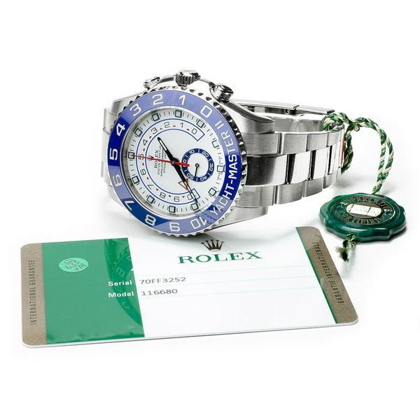 Rolex Yacht-Master II with Box and Papers