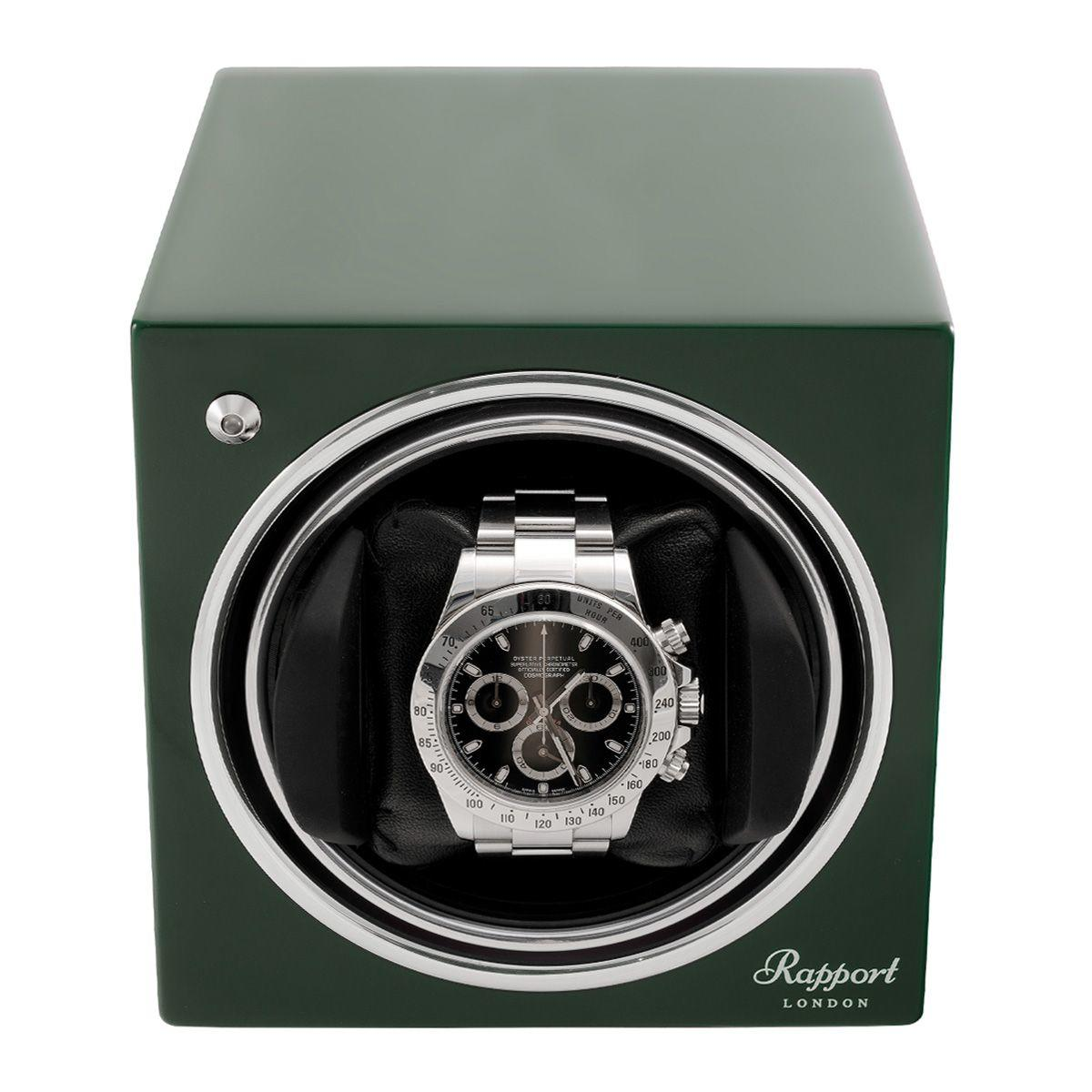Evo Cube Watch Winder Racing Green