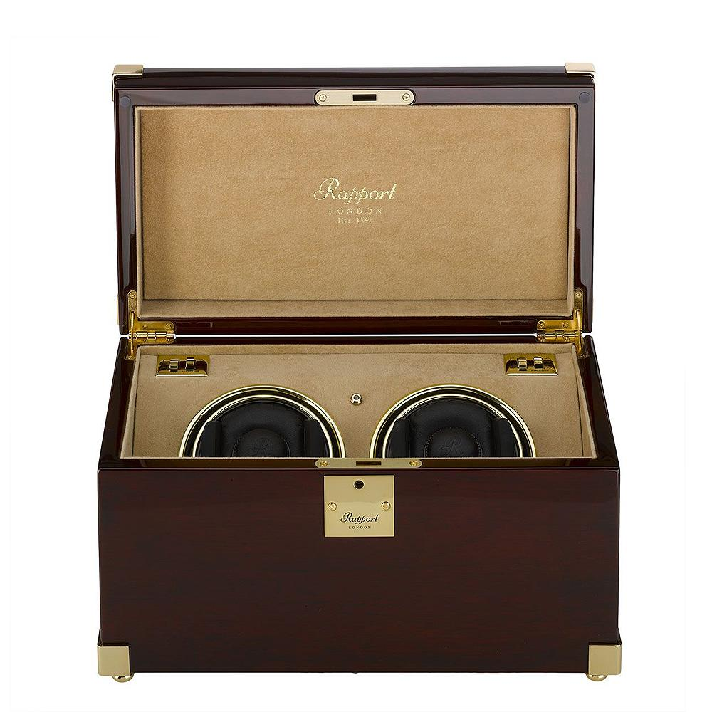 Rapport Captain's Duo Watch Winder at bouchonwatches.com