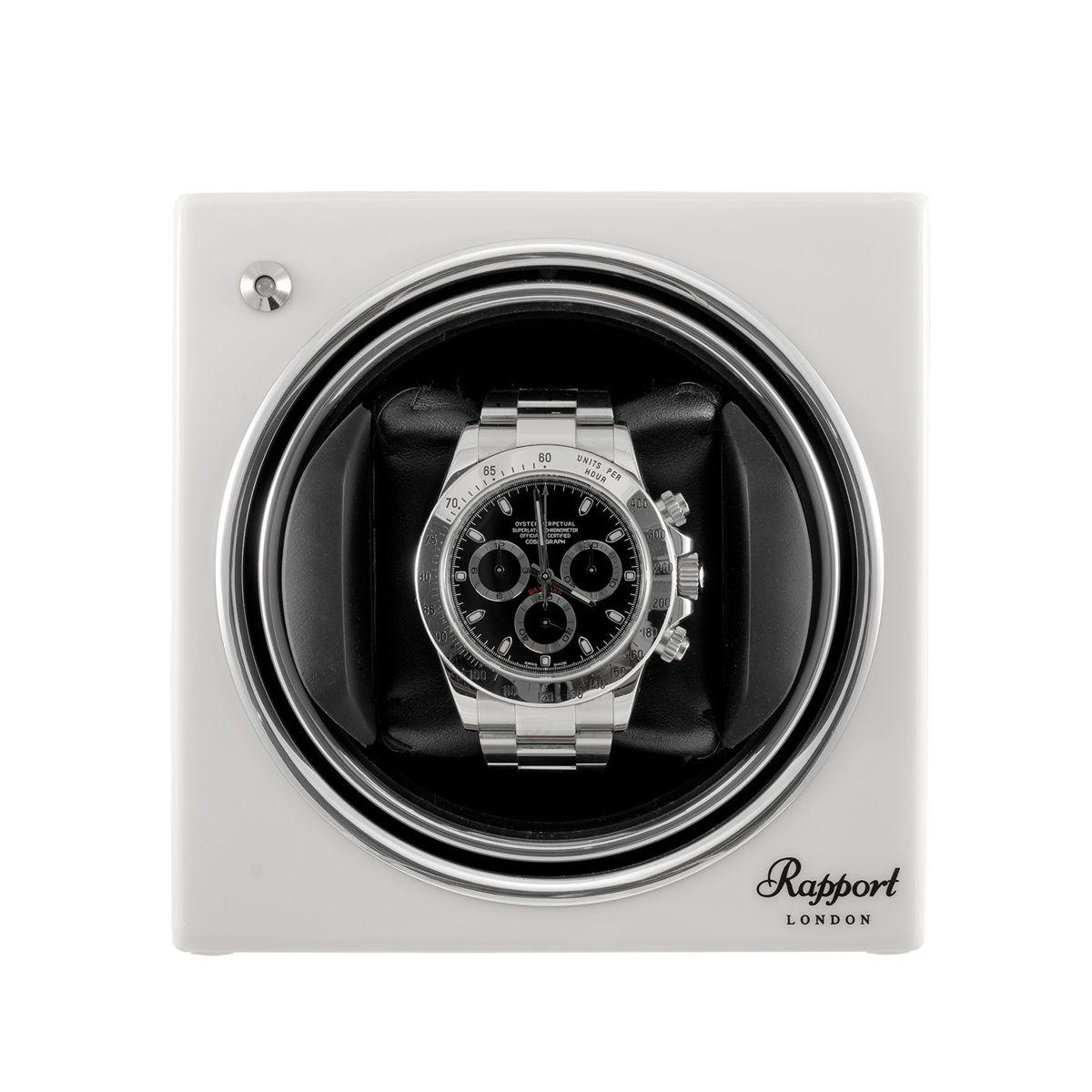 Rapport Evo Cube Watch Winder Glacier White