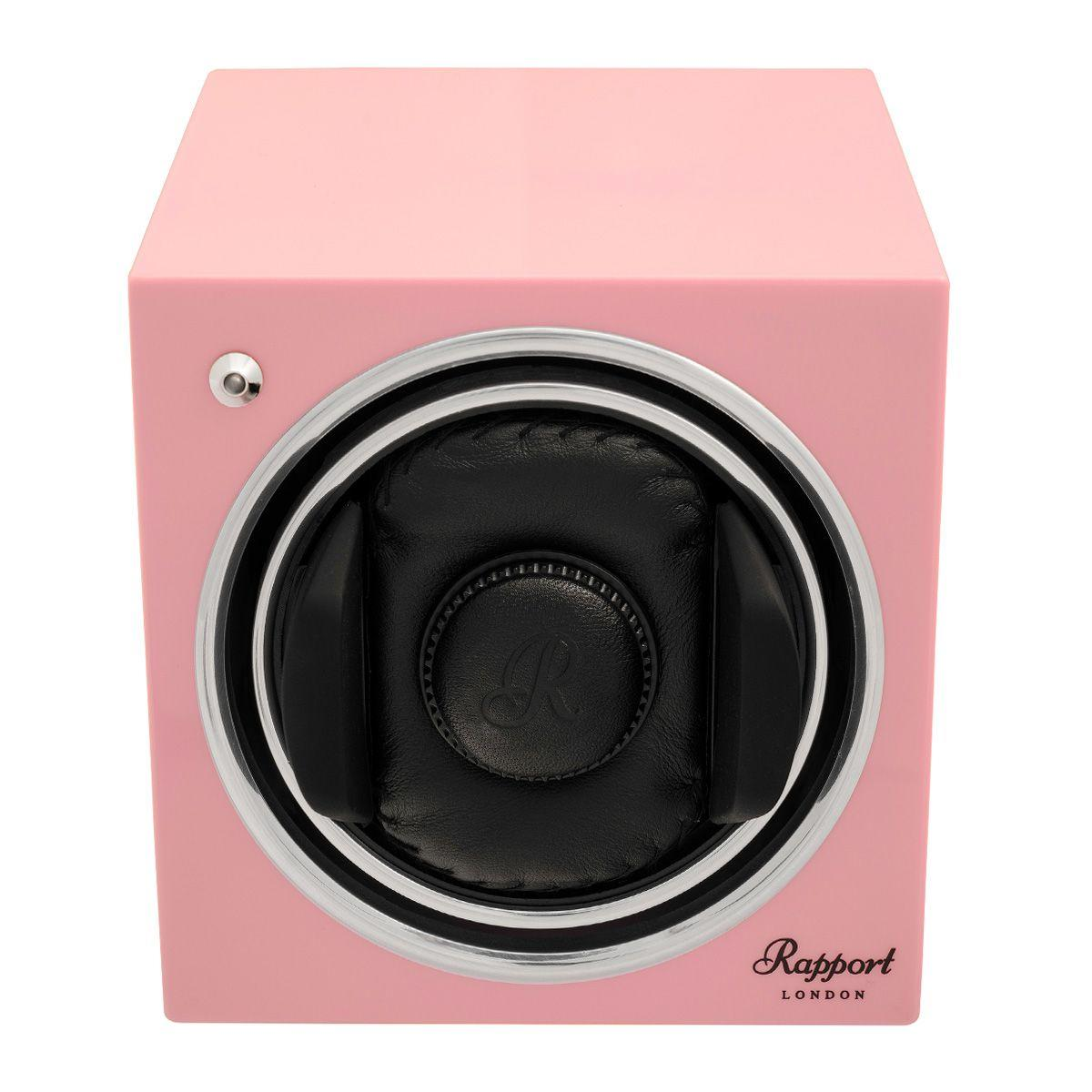 Evo Cube Watch Winder Rose Pink