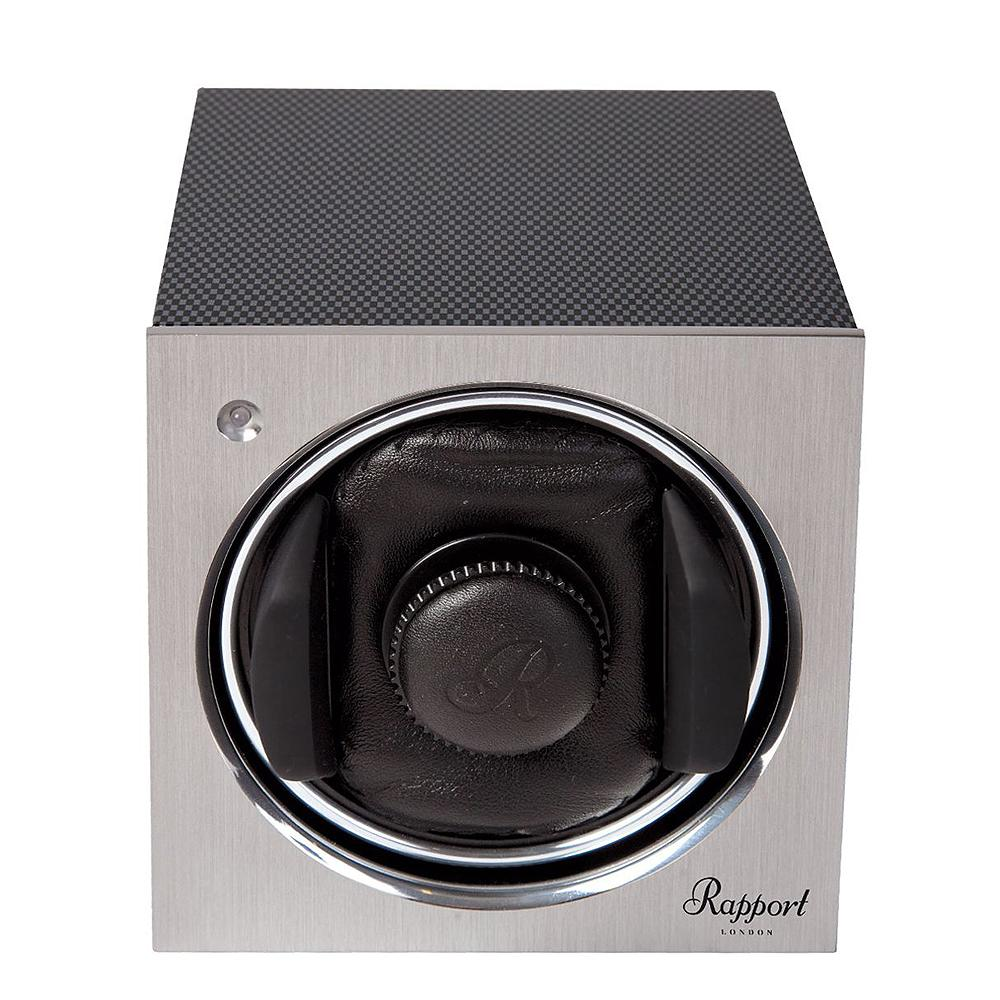 Rapport Tetra Mono Watch Winder - Carbon at Bouchon Watches