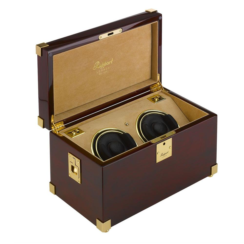 Rapport Captain's Duo Watch Winder