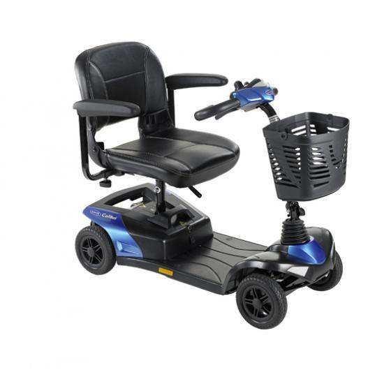 Blue Invacare Portable Mobility Scooter
