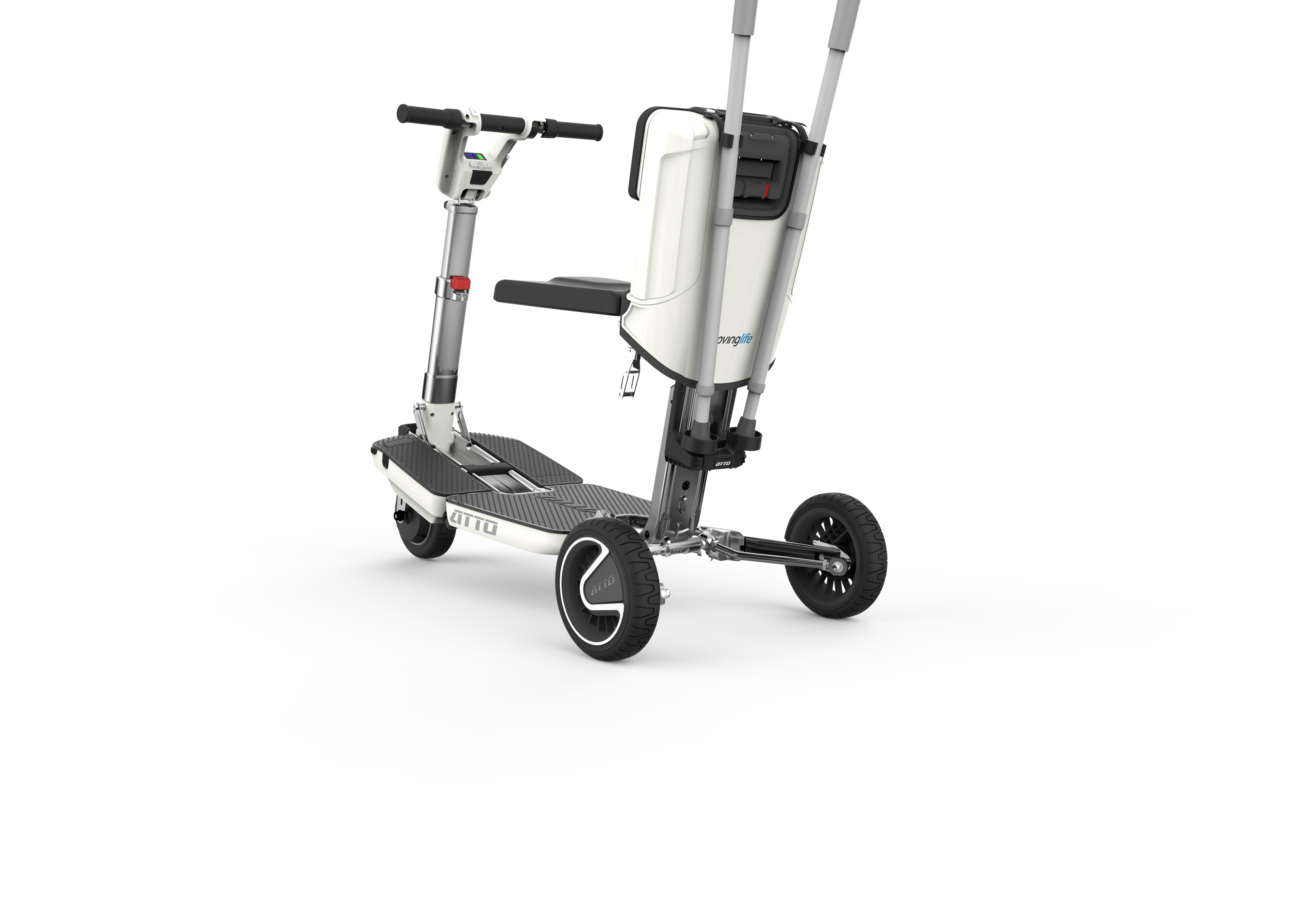 ATTO Mobility Scooter Cane Crutches Walking Stick Holders