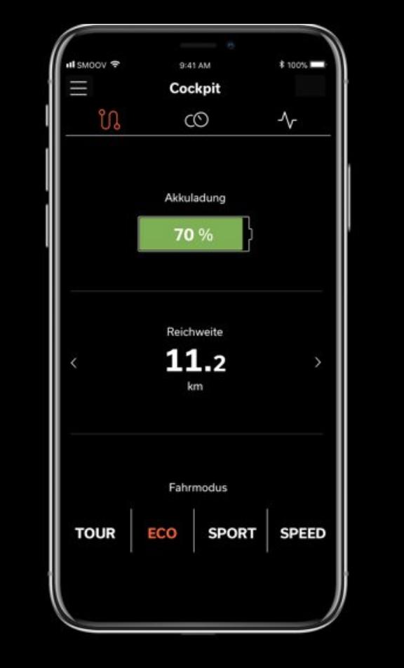 Alber Smoov one - The app