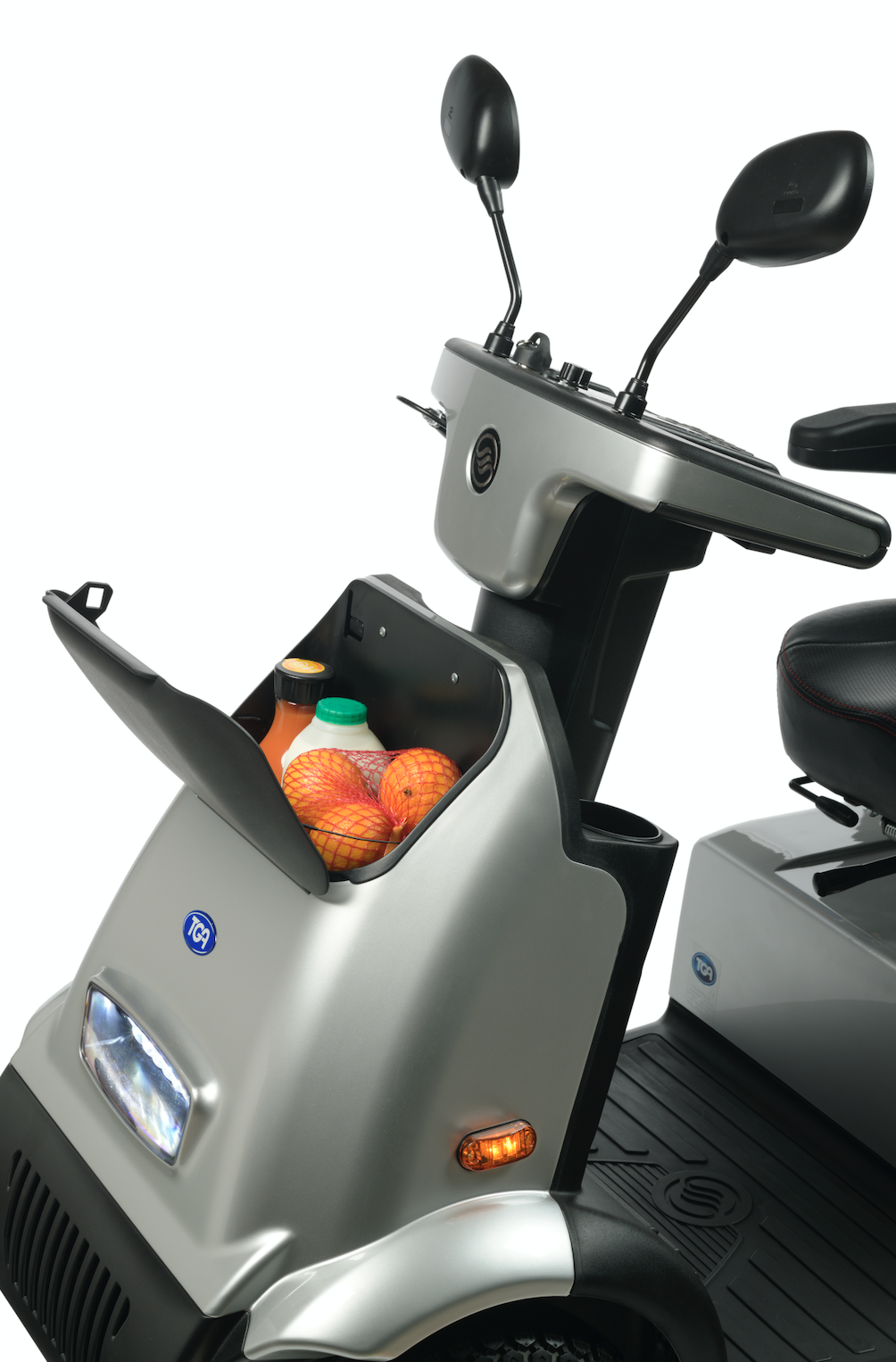 2020 TGA breeze midi 4 mobility scooter side
