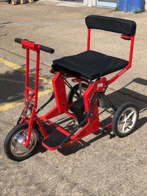 Used Di Blasi Folding Mobility Scooter Lifting Handle
