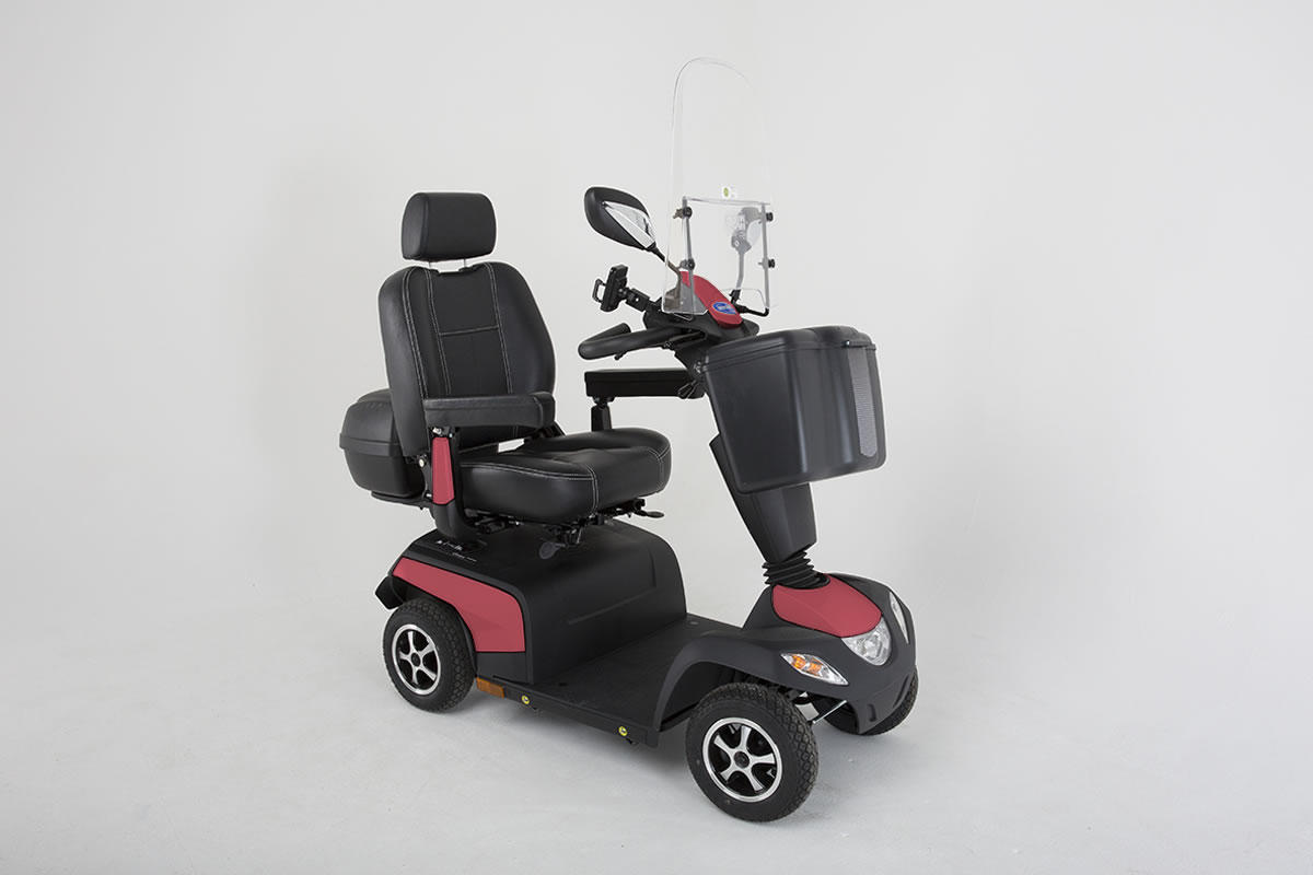 Invacare Orion Metro Jasper Red