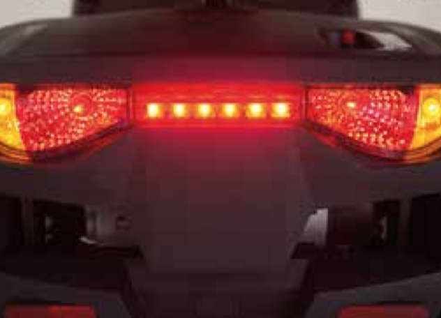 Invacare Metro rear brake lights