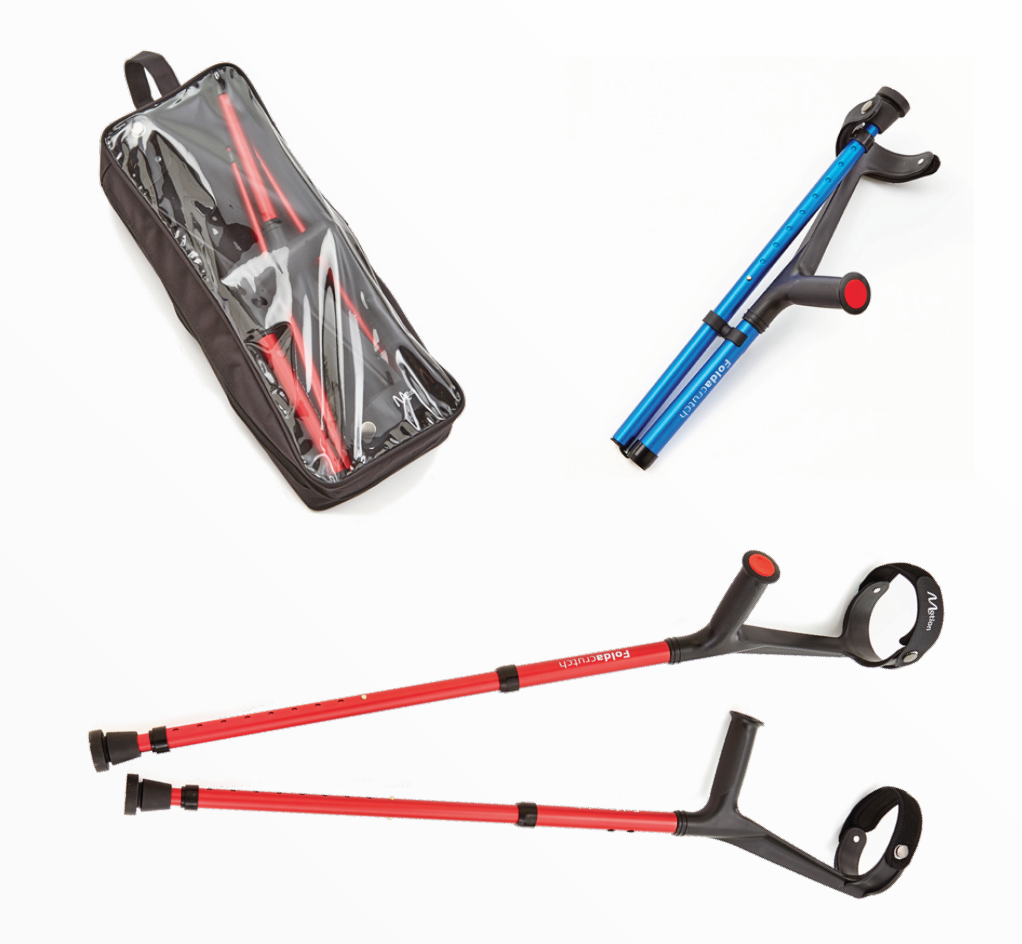 Folding Crutches