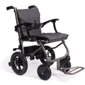 eFOLDi electric wheelchair dual control