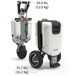 ATTO Mobility Scooter Dimensions for transportation