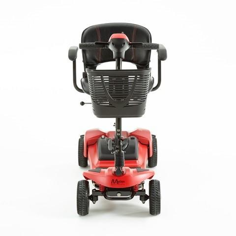 Lithilite Mobility Scooter Red from behind