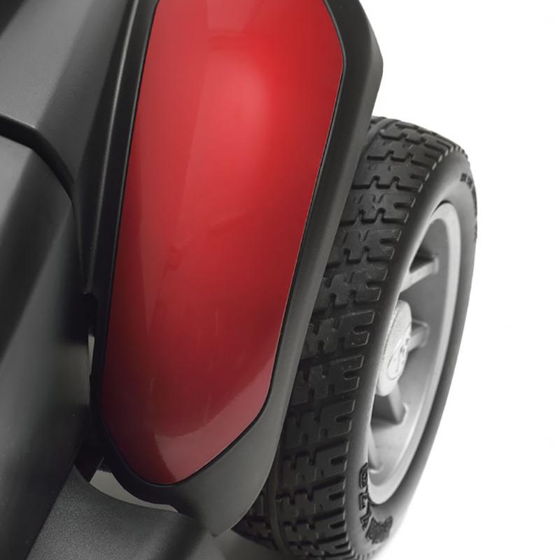 TGA Zest Portable Scooter in Red