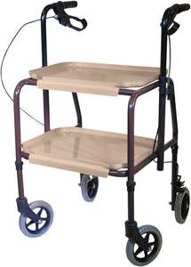 Tea Kitchen Trollet for Disabled or Elderly person walking aid in kitchen