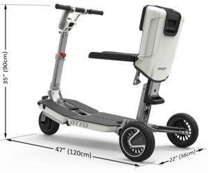 ATTO Mobility Scooter Dimensions