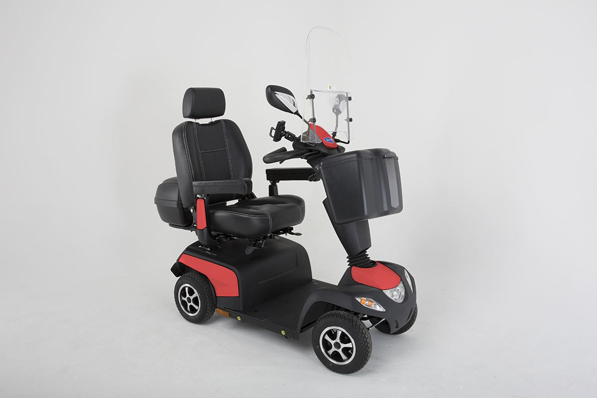 Invacare Orion Metro Carmine Red