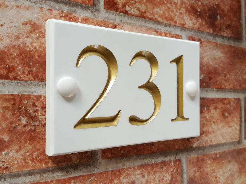 House Sign, House Plaque or House Plate - what's the difference?