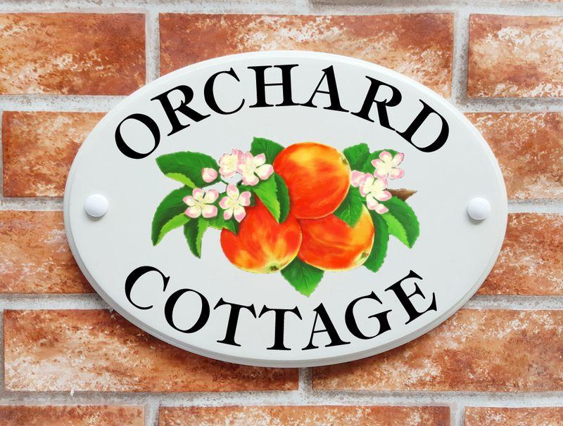 Whats the difference between our Hand Painted House Signs and our range of Picture Art House Signs?