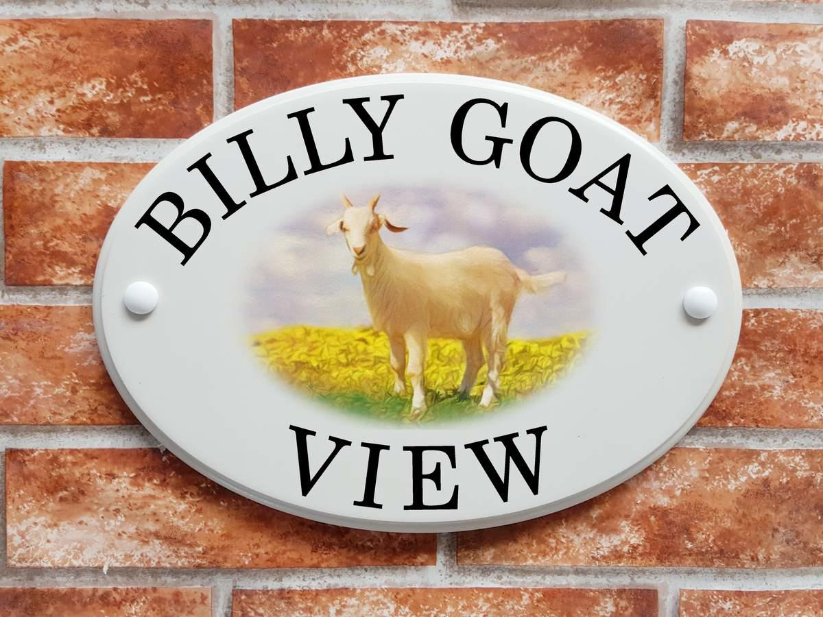 Billy Goat Plaque (Code 081)