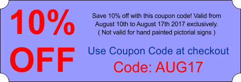 Money off coupon code