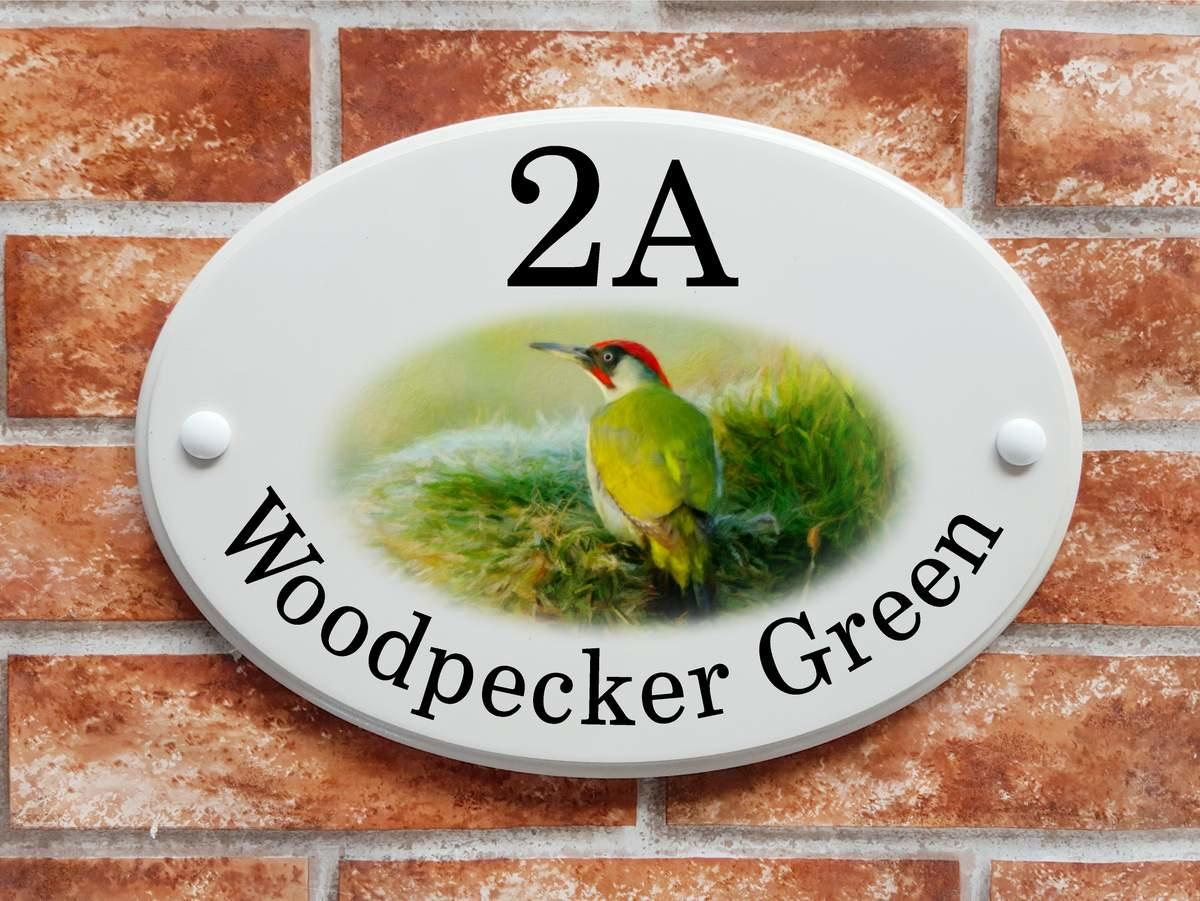 Green Woodpecker sign (code 069)