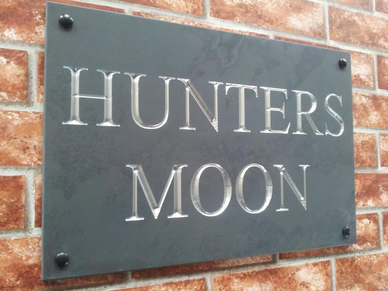 Example of Hunters Moon a chromed silver inlay