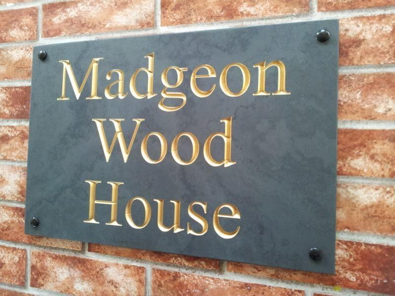 Example of gold inlay for Madgeon Wood House