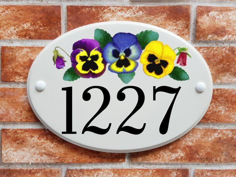 Pansy flowers (code 006)