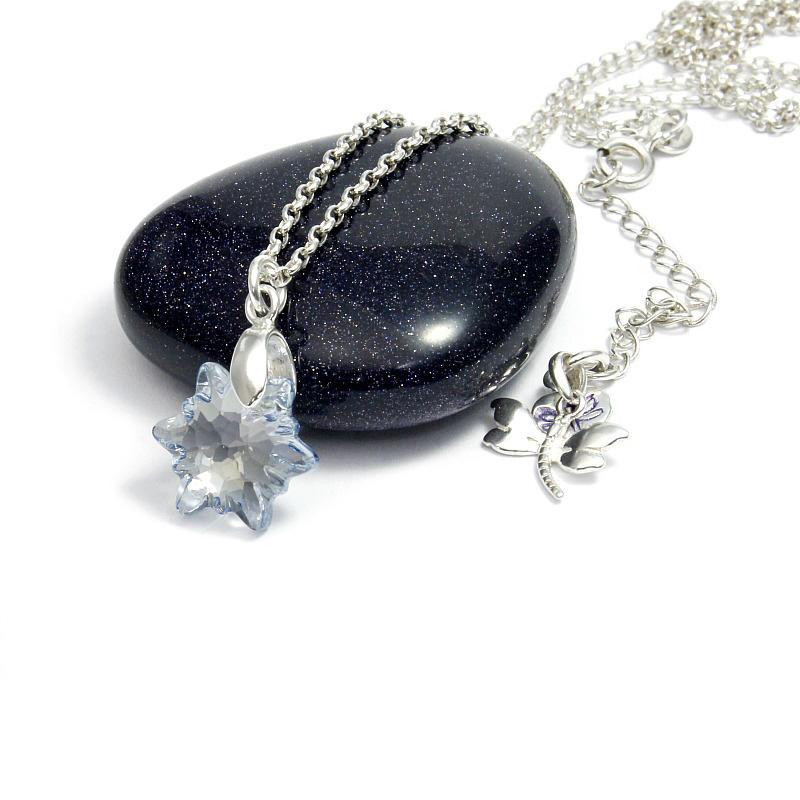 Edelweiss Crystal Pendant