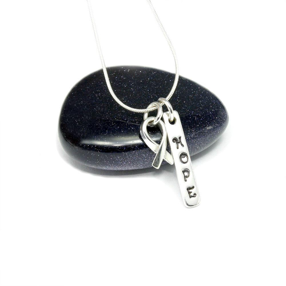 Sterling Silver Pendant - Hope