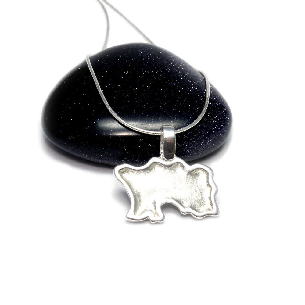 Silver Jersey Pendant