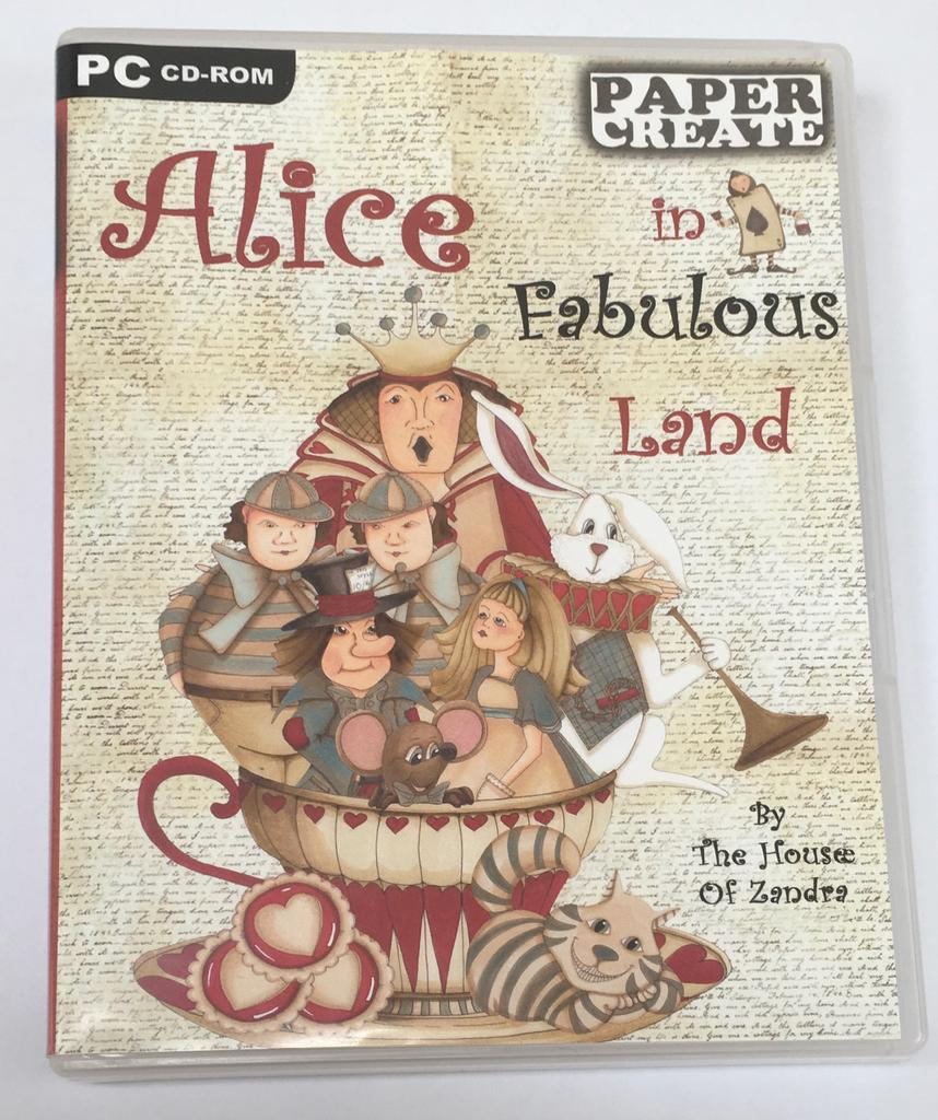 Alice in Fabulous Land CD Rom