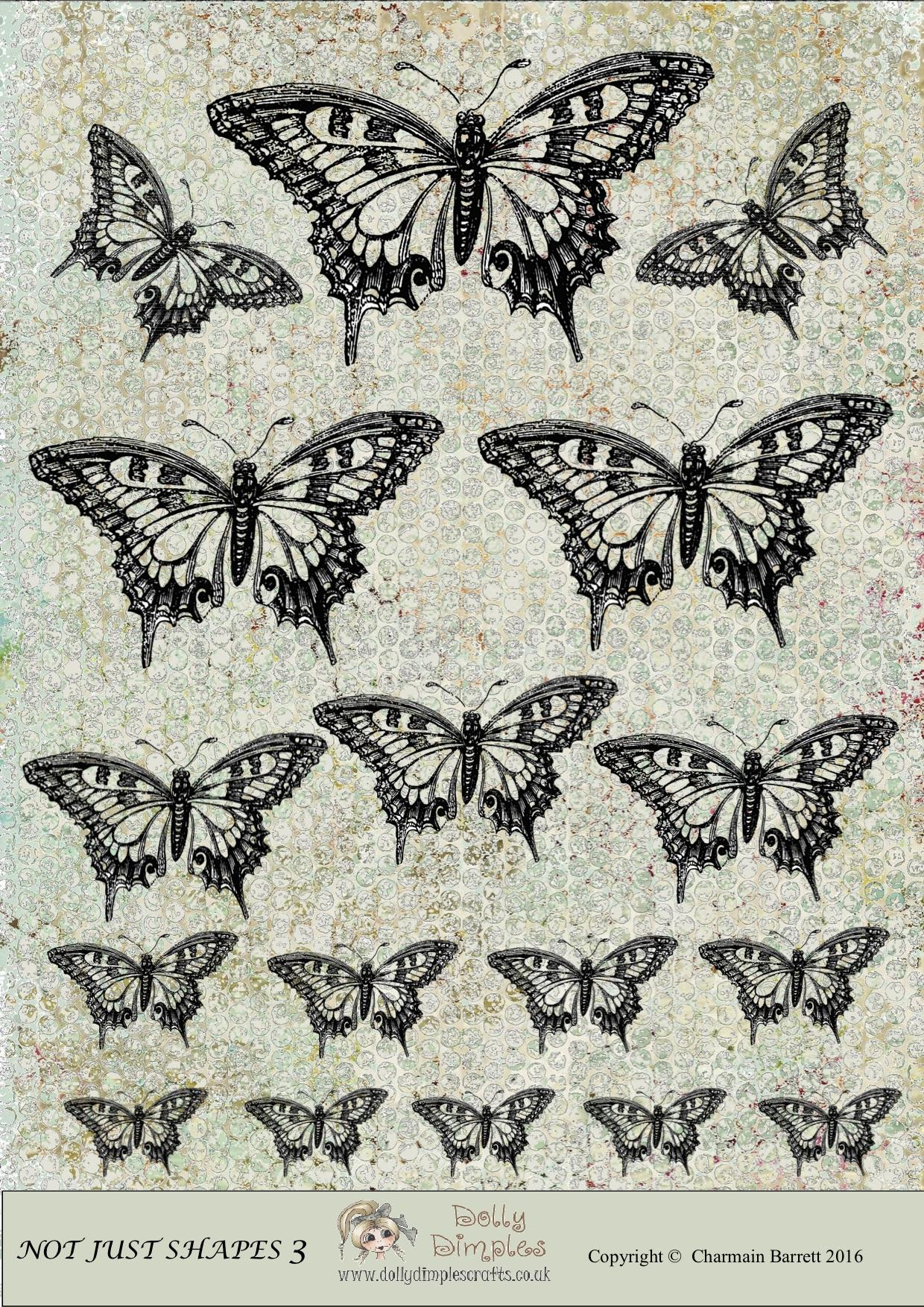 Embellishment Butterflies