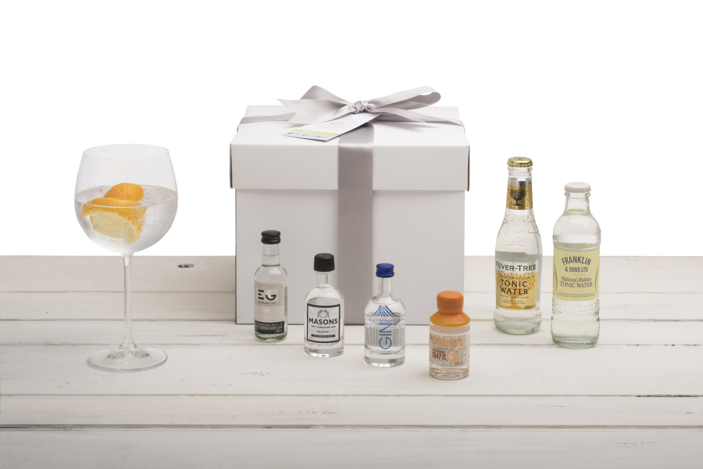 Gin Gift Set - Northern Selection with Gin Copa
