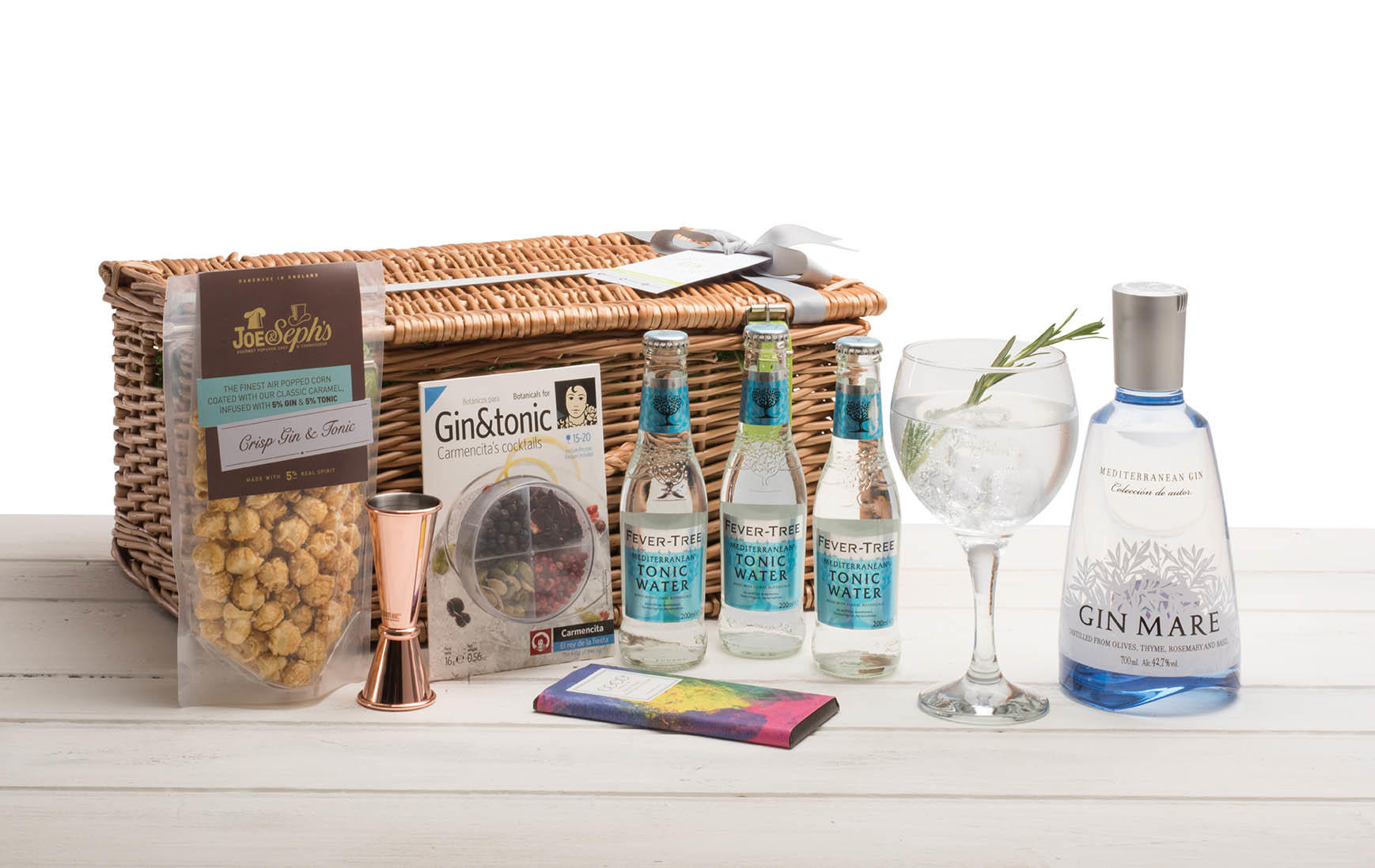 Gin Mare Wicker Hamper