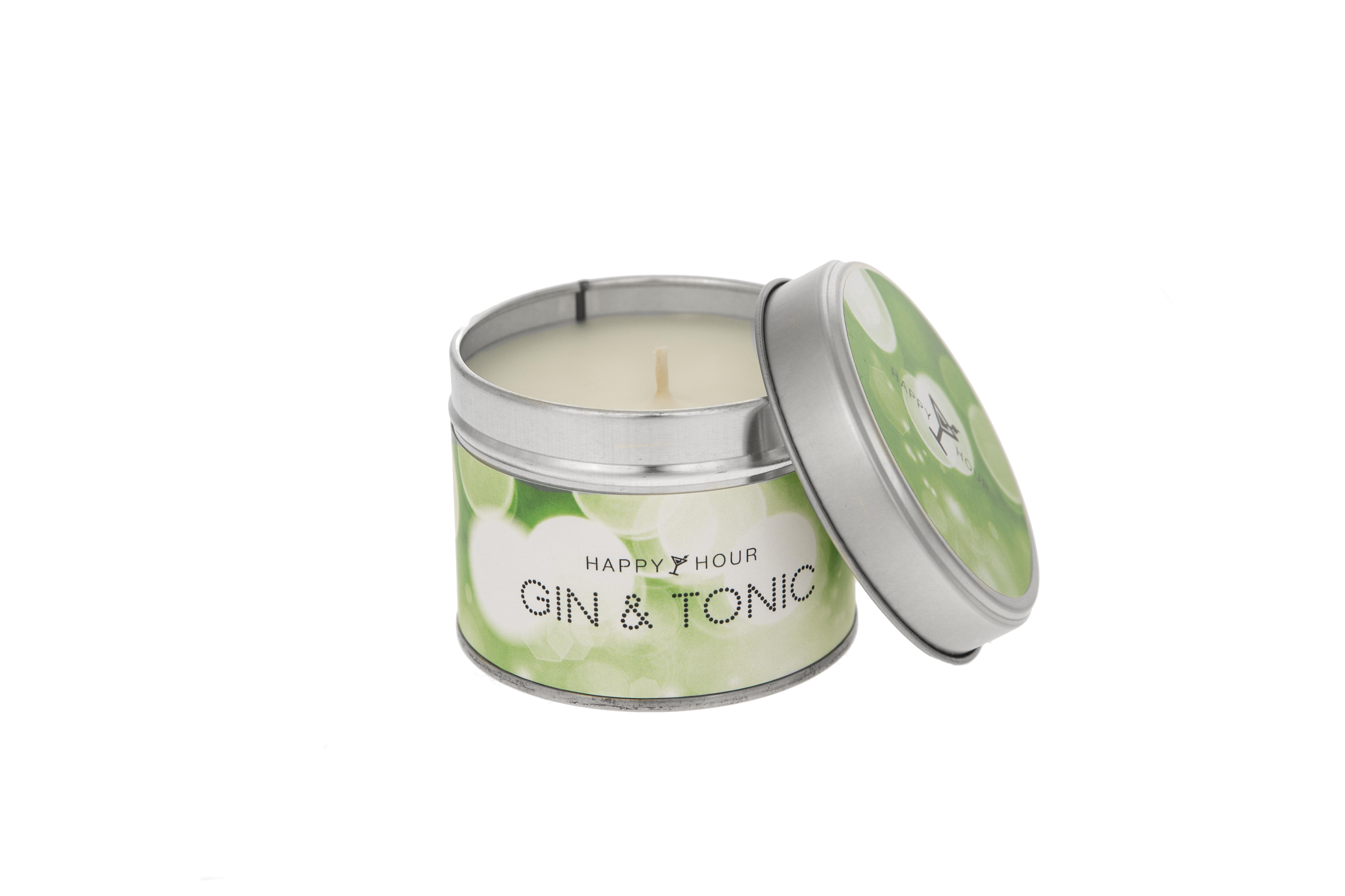 Gin & Tonic Happy Hour by Pintail Candles