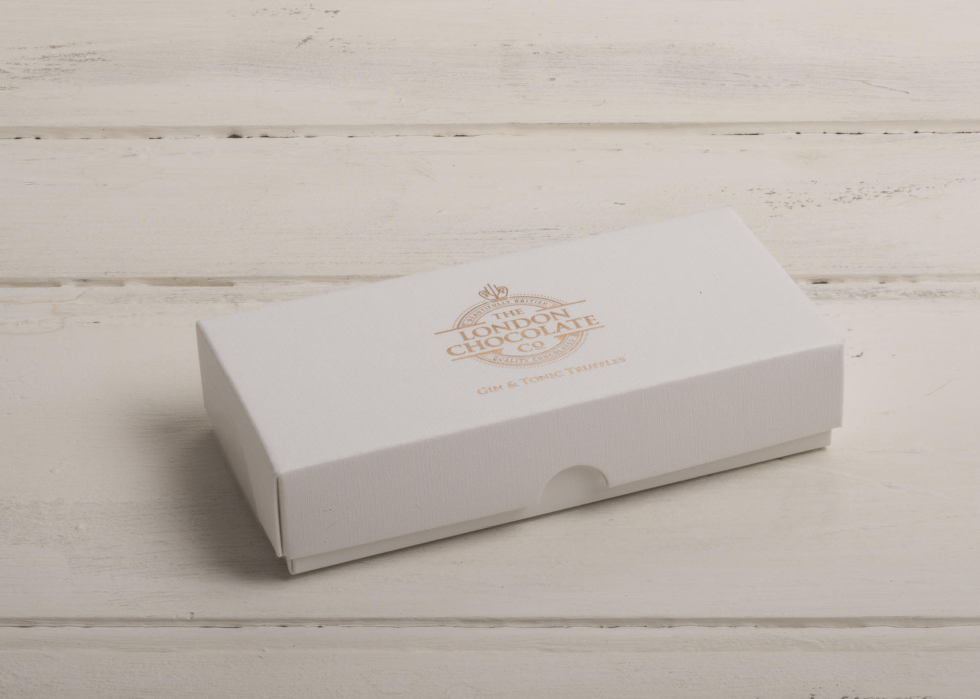 Gin and Tonic Truffle Gift Box by The London Chocolate Company