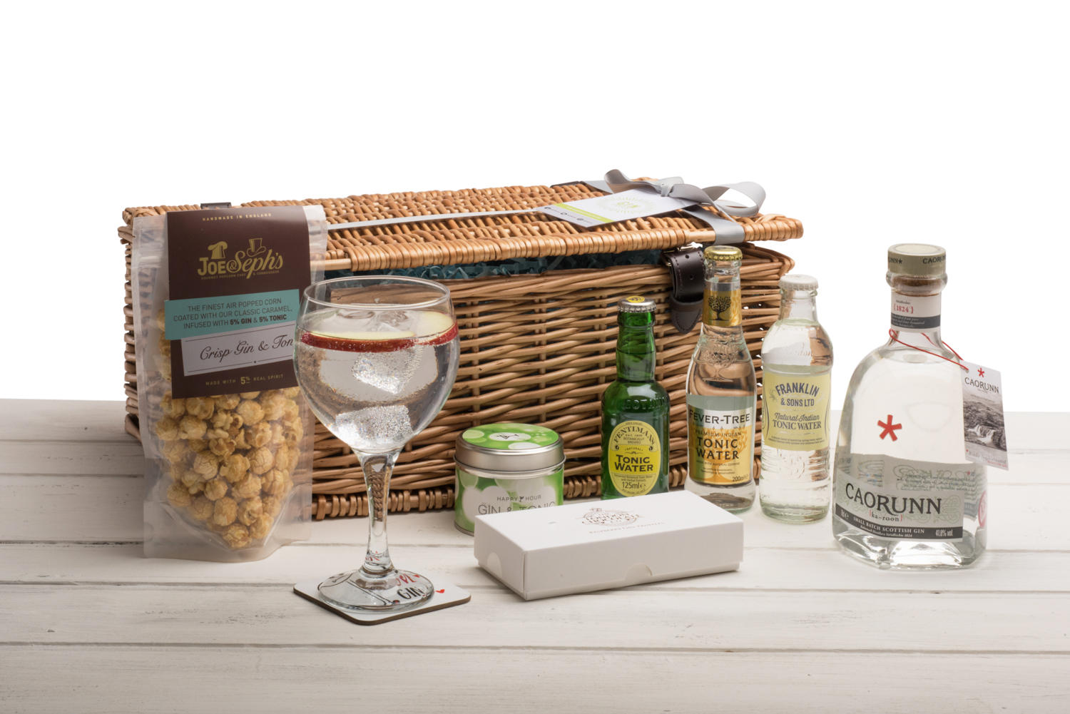 Caorunn Gin Hamper (Wicker Basket)