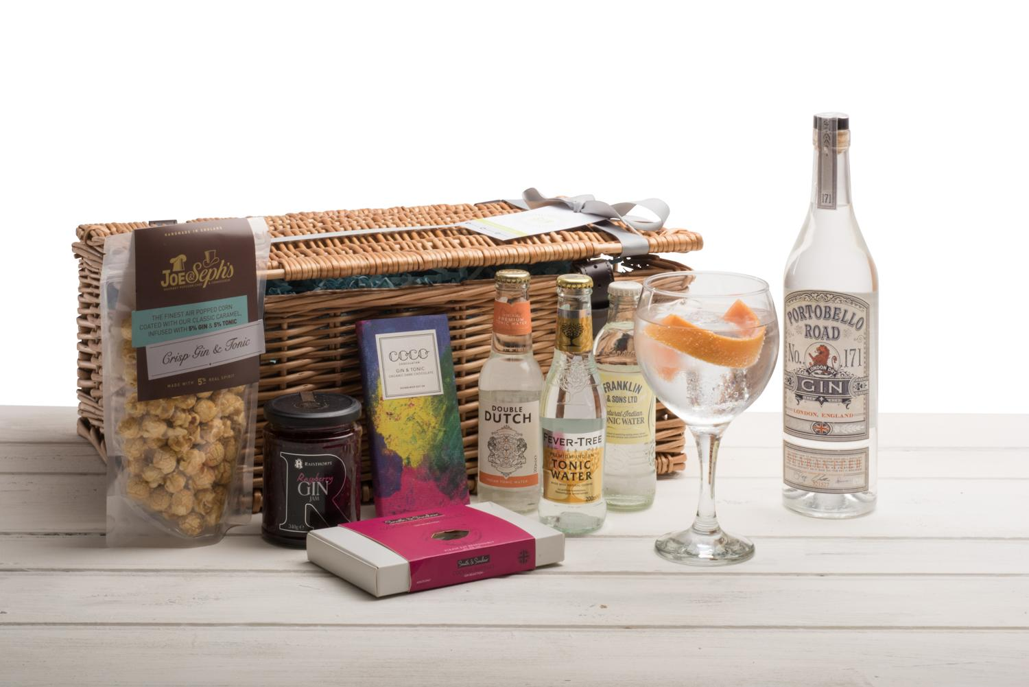 Navy Strength Portobello Road Gin Hamper