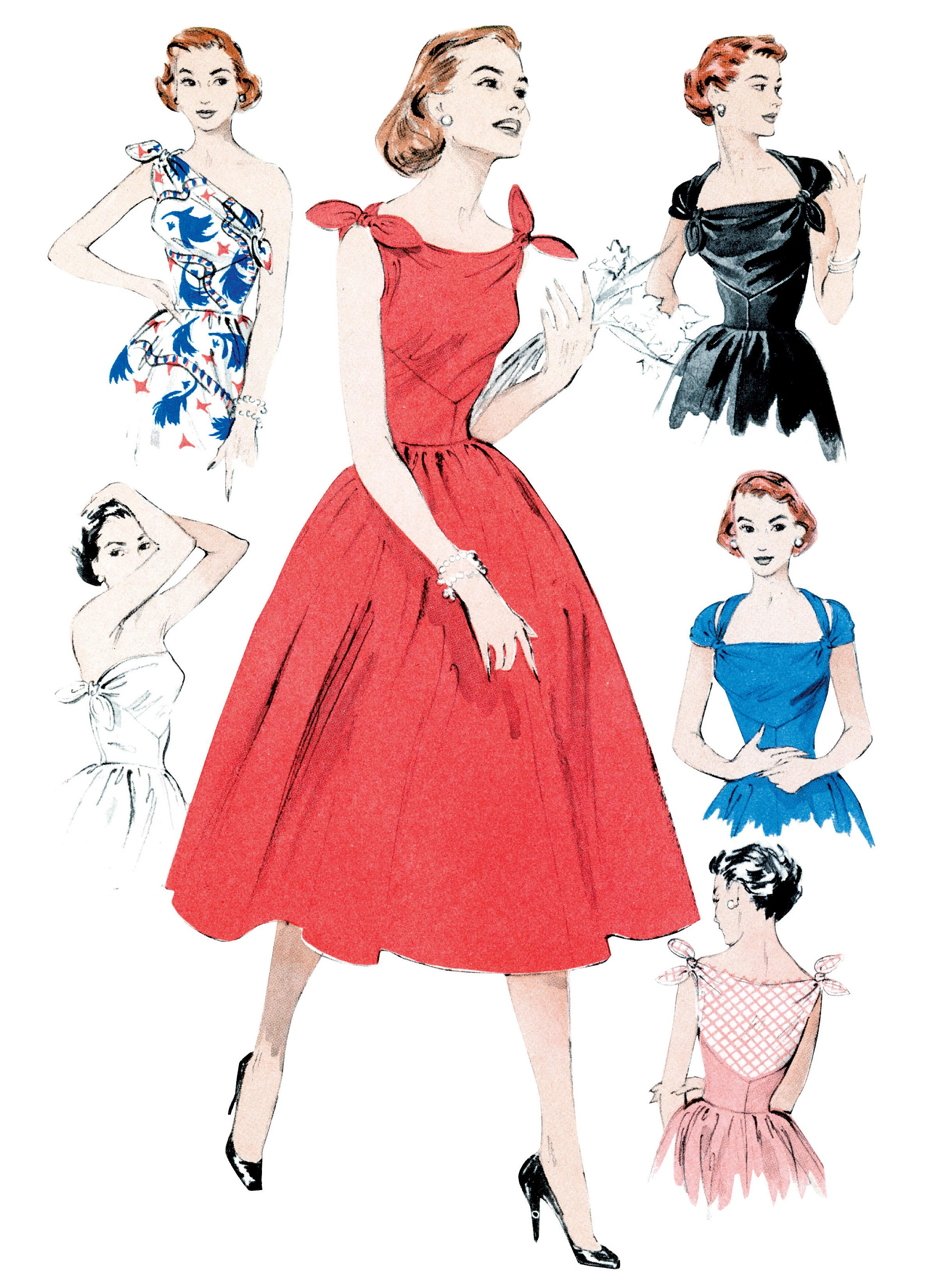 Butterick B5708 Misses' Dress