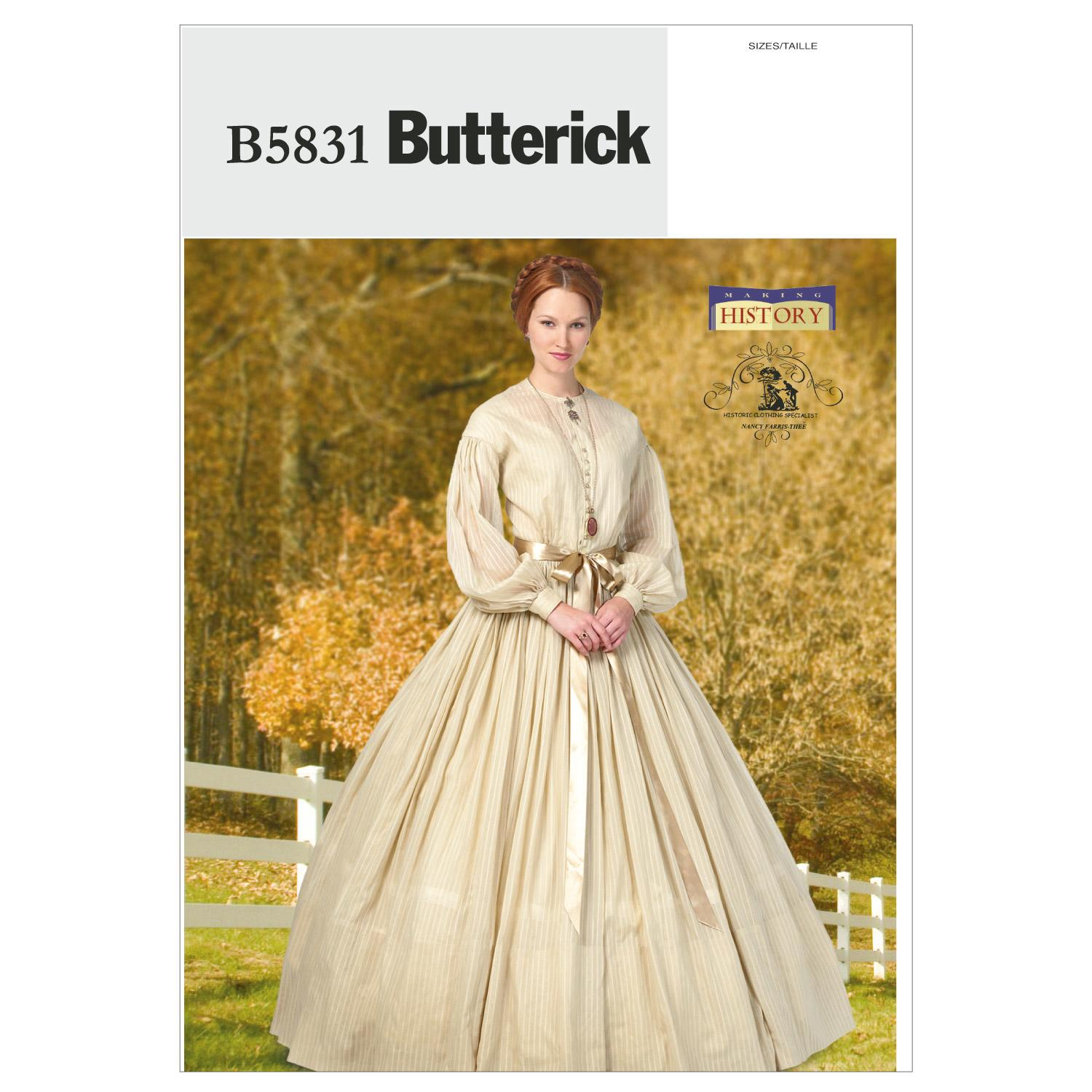 Butterick B5831 Misses' Dress