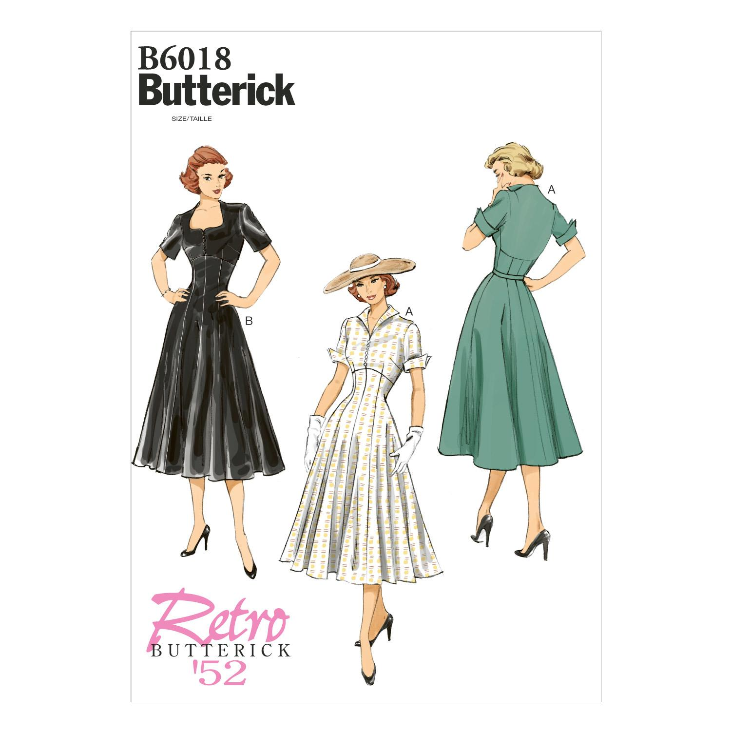 Butterick B6018 Misses' Dress