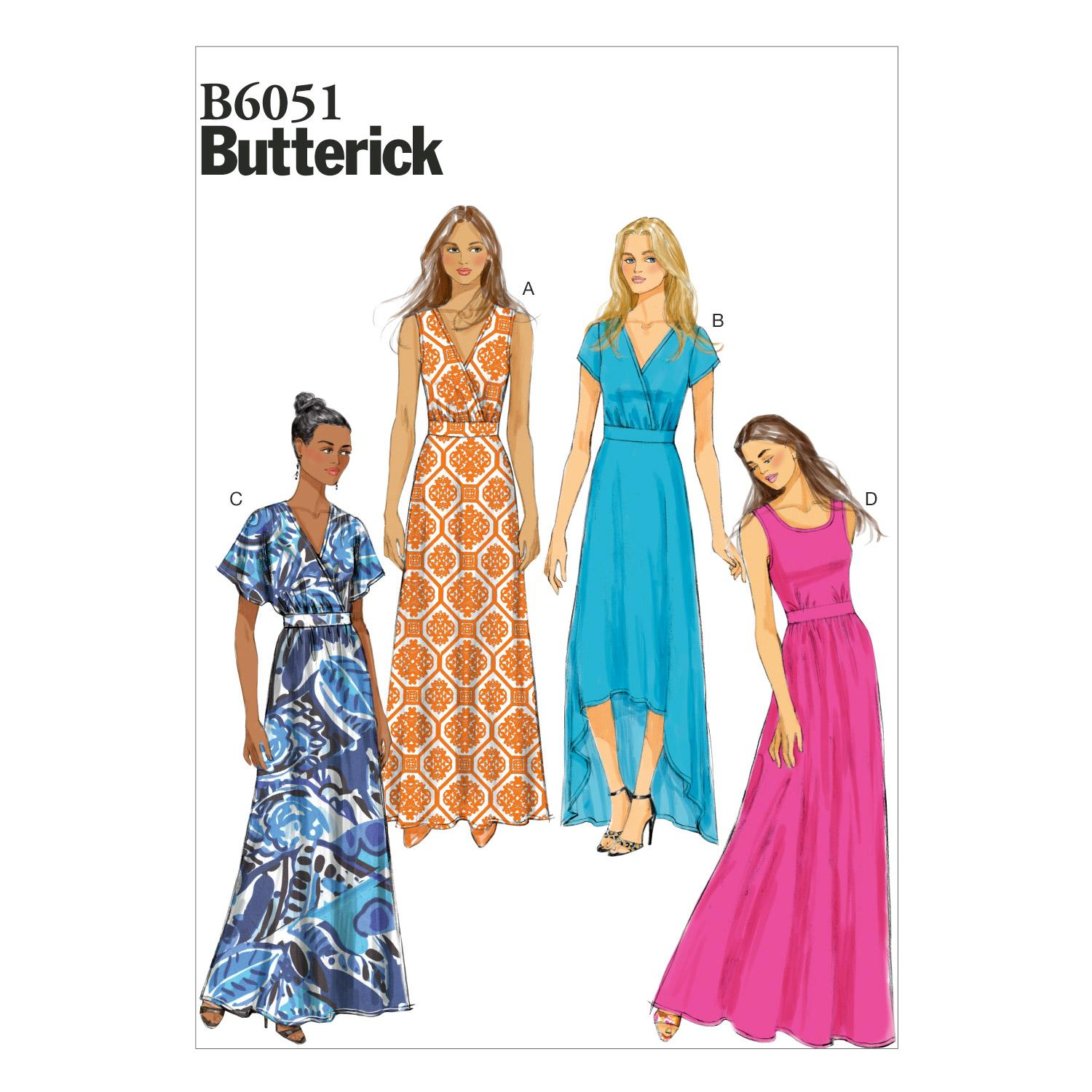 Butterick B6051 Misses' Dress