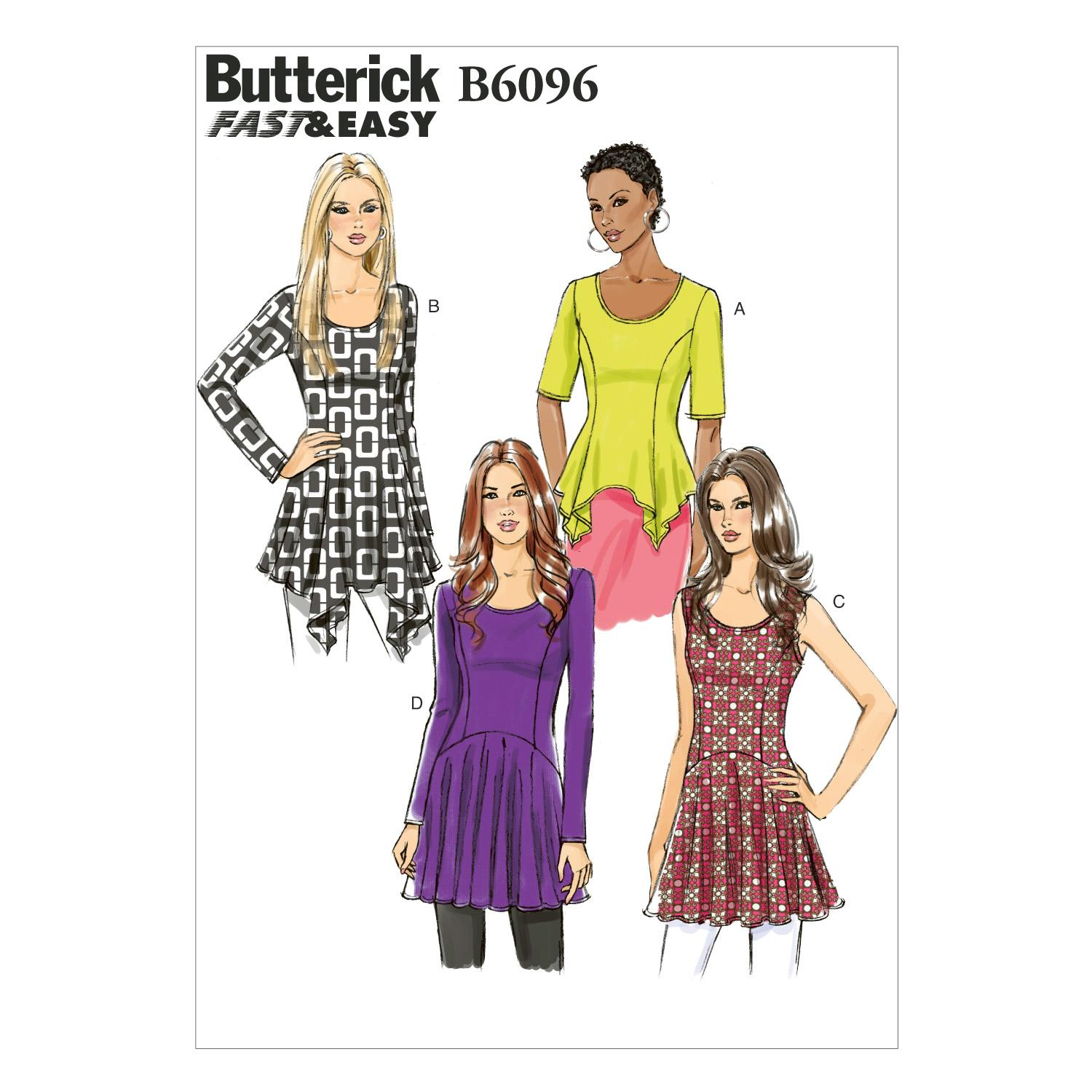 Butterick B6096 Misses' Top