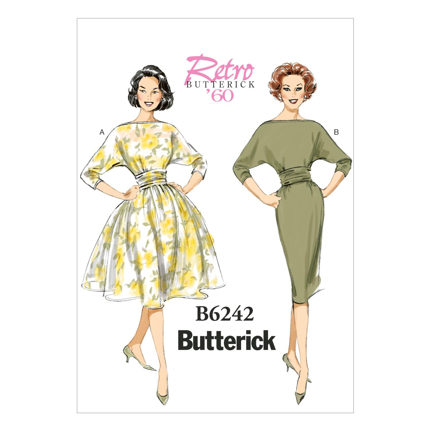 Butterick B6242 Misses' Dress