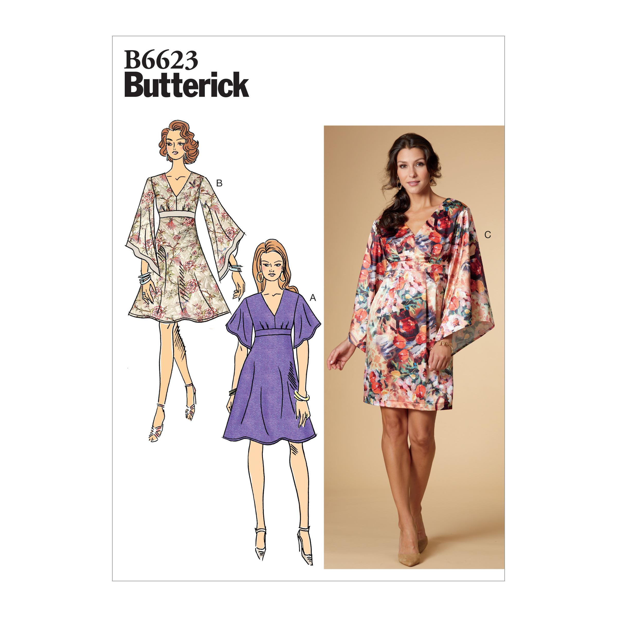 Butterick B6623 Misses' Dress